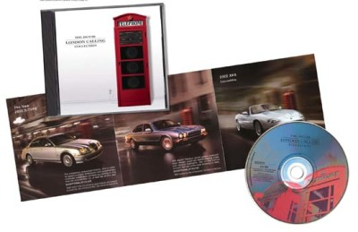 Jaguar London Calling compilation CD of British artists.